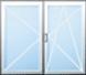 Dvoukřídlé okno